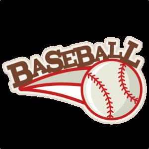 Baseball SVG scrapbook title baseball svg title baseball svg cut files baseball title svg cut files