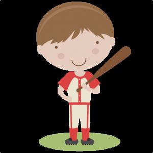 Boy Baseball Player SVG scrapbook title baseball svg title baseball svg cut files baseball title svg cut files
