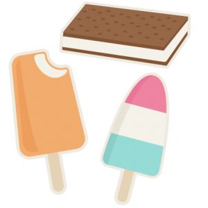 Summer Treats SVG cutting files summer svg cut files popsicle evg cuts cute svg cut files for cricut
