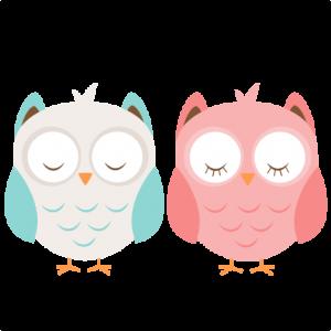 Boy & Girl Owl SVG cutting file cute owl clipart free svg cut files free svg cut files for cricut cute svgs