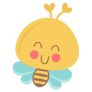 Cute Bee SVG scrapbook title SVG cutting files bee svg cuts bee svg cut files for scrapbooking