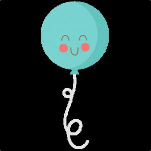 Cute Birthday Balloon SVG cutting files birthday svg cut file free svgs free svg cuts cute svg files for cricut