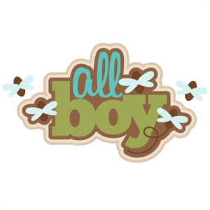 All Boy SVG scrapbook title SVG cutting file for scrapbooking dragonfly svg cuts frog svg cut files cute svg cut files for cricut
