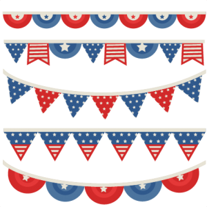 Independence Banners SVG scrapbook cuts independence day svg cut files cute svg files for cricut svg cuts
