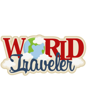 World Traveler SVG scrapbook title SVG cutting file earth svg cut file for cricut vacation svg cut file cute cut files