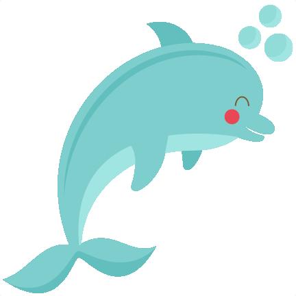 Cute Dolphin svg cut file for cricuts SVG scrapbook title ...