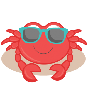 Beach Crab SVG cutting files for scrapbooking ocean svg cut files ocean svg cuts beach svg files