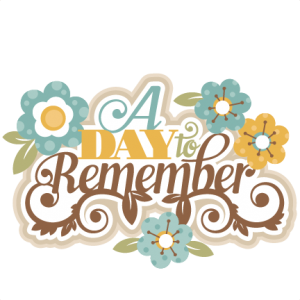 A Day to Remember SVG cutting files for scrapbooking svg cut files for cricut cute svgs cute cut files