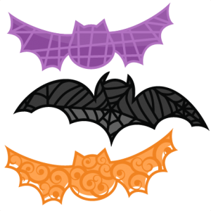 Bat Set SVG cutting files bat svg cut file halloween cute files for cricut cute cut files free svgs