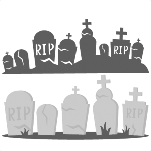 Tombstones SVG cutting files graveyard svg cut files halloween svg cuts cute svgs cute cut files for cricut