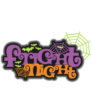 Fright Night SVG scrapbook title cute svg cut files free svgs cute cut files for cricut halloween cut files