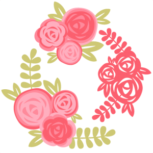 Rose Set SVG cutting file for scrapbooking free svg cuts free svgs flower svg files