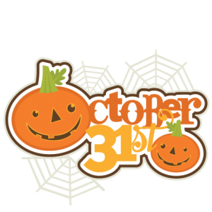 October 31st SVG scrapbooking title halloween svg cut file cute cut files for cricut cute svgs free cut files