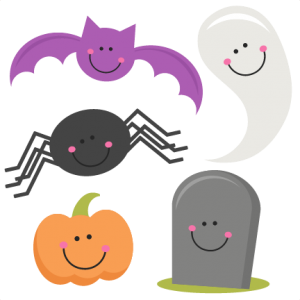 Halloween Set  SVG scrapbook title SVG cutting files bat svg cut file halloween cute files for cricut cute cut files free svgs