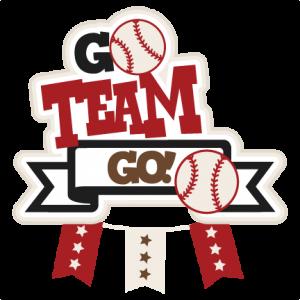 Go Team Go Baseball SVG scrapbook title football svg cut file cute cut files for cricut cute svg cuts free svgs