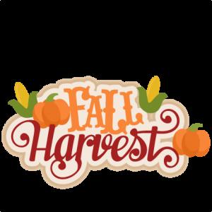 Fall Harvest SVG scrapbook title  SVG cutting files for scrapbooking fall svg cut files for cricut cute cut files free svg cuts