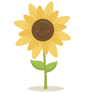 Cute Sunflower SVG scrapbook title  SVG cutting files for scrapbooking fall svg cut files for cricut cute cut files free svg cuts
