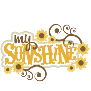 My Sunshine  SVG scrapbook title  SVG cutting files for scrapbooking fall svg cut files for cricut cute cut files free svg cuts