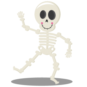 Dancing Skeleton SVG cutting files halloween svg cuts halloween scal files cutting files for cricut free svgs