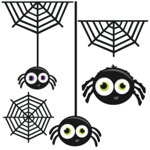 Spider Group SVG cutting files for scrapbooking halloween svg cut file halloween cut files for scrapbooking