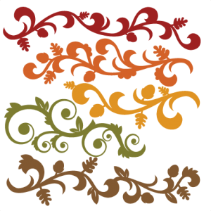 Fall Flourish Set SVG cutting file for scrapbooking autumn svg cut files free svgs cute cut files for cricut