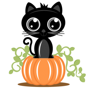 Cat On Pumpkin SVG cutting files for scrapbooking cat svg cut file cat scal file free svgs cricut machines