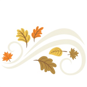 Fall Leaves Flourish Set SVG cutting file for scrapbooking autumn svg cut files free svgs cute cut files for cricut