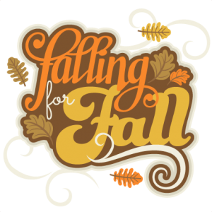 Falling for Fall Title SVG cutting file for scrapbooking autumn svg cut files free svgs cute cut files for cricut