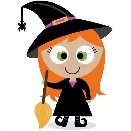Cute Witch SVG scrapbook title SVG cutting files witch svg ...