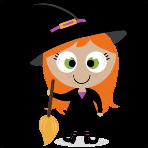 Cute Witch SVG scrapbook title SVG cutting files witch svg cut file halloween cute files for cricut cute cut files free svgs