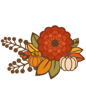 Fall Flower Group Title SVG cutting file for scrapbooking autumn svg cut files free svgs cute cut files for cricut