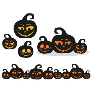 Spooky  Pumpkins SVG scrapbook title SVG cutting files halloween svg cut file halloween cute files for cricut cute cut files free svgs