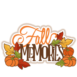 Fall Memories Title SVG cutting file for scrapbooking autumn svg cut files free svgs cute cut files for cricut