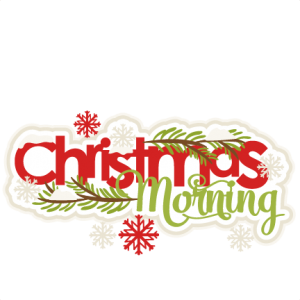 Christmas Morning SVG scrapbook title shapes christmas cut outs for cricut cute svg cut files free svgs cute svg cuts