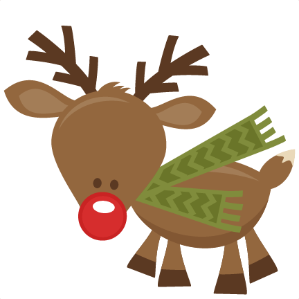 Cute reindeer head clipart - photo#18