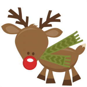 Cute Reindeer SVG cutting files for scrapbooking cute cut files christmas svg cut files free svgs