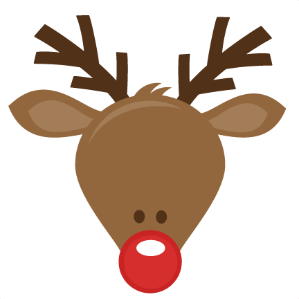 Reindeer Head Png Cute Svg Cutting Files For