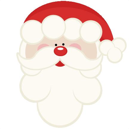 santa cut files for cricut svg cutting files for cute santa clip art black and white Santa Claus Border Clip Art