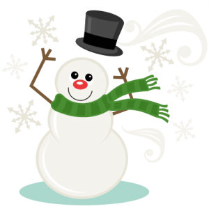 Windy Snowman SVG scrapbook title winter svg cut file snowflake svg cut files for cricut cute svgs free