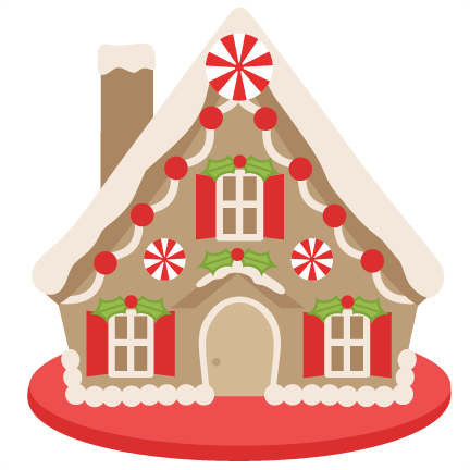Clip Art Gingerbread House Free