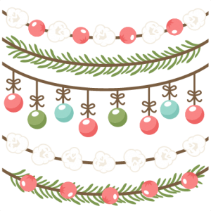 Christmas Borders scrapbook clip art christmas cut outs for cricut cute svg cut files free svgs cute svg cuts