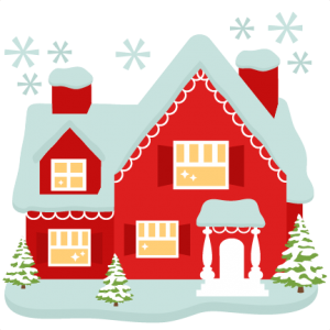 Santa's House cut files for cricut  SVG cutting files for scrapbooking cute cut files christmas svg cut files free svgs