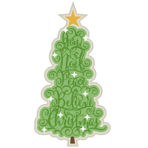 Christmas Word Tree scrapbook clip art christmas cut outs for cricut cute svg cut files free svgs cute svg cuts