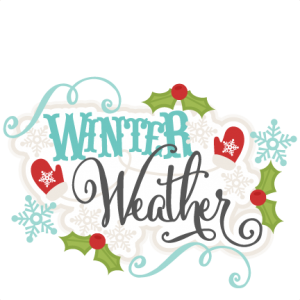 Winter Weather SVG scrapbook title winter svg cut file snowflake svg cut files for cricut cute svgs free