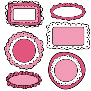 Doodle Frames SVG cutting files doodle cut files for scrapbooking clip art clipart doodle cut files for cricut free svg cuts