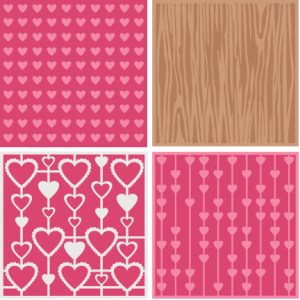 Valentine Backgrounds scrapbook titles SVG cutting files doodle cut files for scrapbooking clip art clipart doodle cut files for cricut free svg cuts