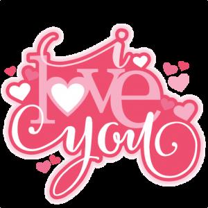I Love You SVG scrapbook title valentine SVG cutting file for scrapbooking free svg cuts free svgs hearts svg files