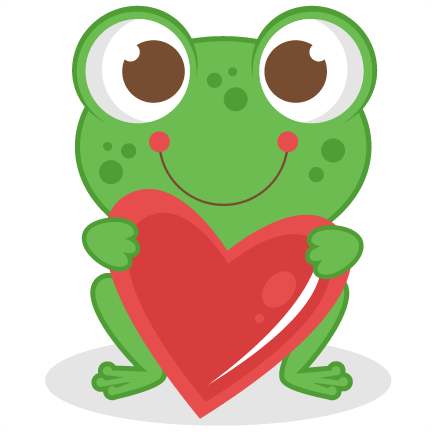 Love Frog Scrapbook Titles Svg Cutting Files Frog Cut