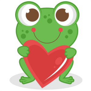 Love Frog scrapbook titles SVG cutting files frog cut files for scrapbooking clip art clipart doodle cut files for cricut free svg cuts