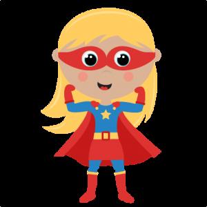 Girl Superhero cut files SVG cutting files for scrapbooking superhero clipart clip art cute free svg cuts